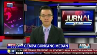 <b>Gempa</b> 56 SR Guncang Medan