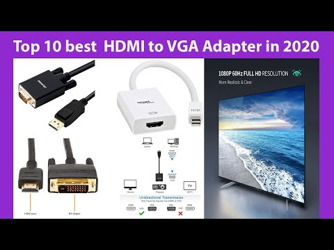 Top 10 best  HDMI to VGA Adapter in 2020