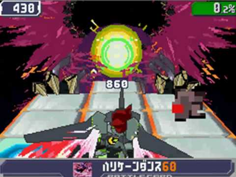 Ryuusei no Rockman 3/Megaman Starforce 3 Black Ace Final Boss: Crimson Dragon SP