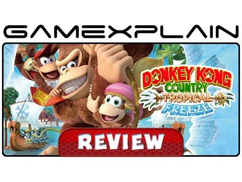Donkey Kong Country: Tropical Freeze - Video Review (Wii U) - YouTube video thumbnail