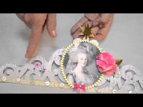 Making Cartouche Crowns with Brenda Walton