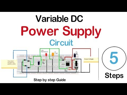 Homemade Variable DC power supply 1,2-55V/3A part 2