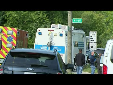 One person held hostage released in barricaded incident in Detroit's west side
