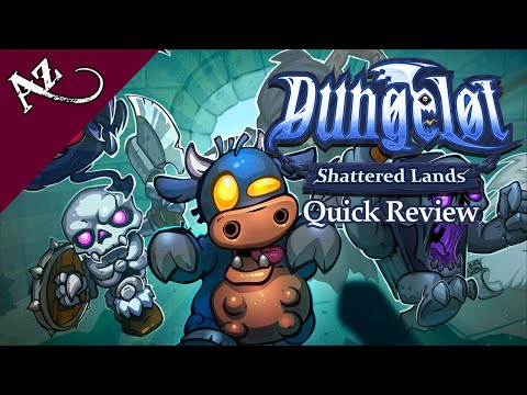 Dungelot: Shattered Lands - Quick Game Review video thumbnail