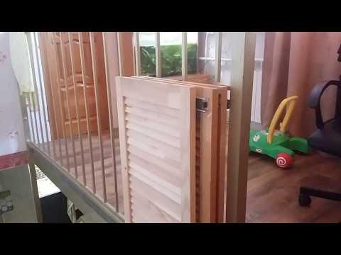 ворота безопасности для ребёнка своими руками