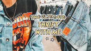 a BEGINNERS GUIDE to THRIFTING in 2020 ☆ mom jeans, vintage tee's + more!