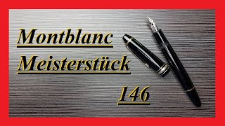 Montblanc Meisterstück 146 - Review Deutsch