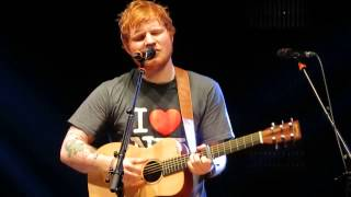 Ed Sheeran - New York Live at Madison Square Garden 11/1/13 (new song)
