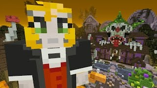 Minecraft: Xbox - Battle Mini-game - New Halloween Map