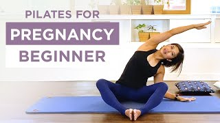 Pregnancy Beginner - Pilates Matwork - 30min Prenatal fullbody workout