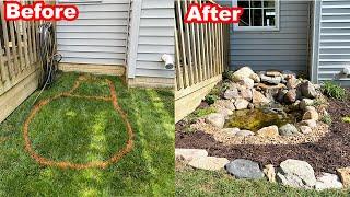 My Backyard POND Is FINALLY DONE! (Part 3)