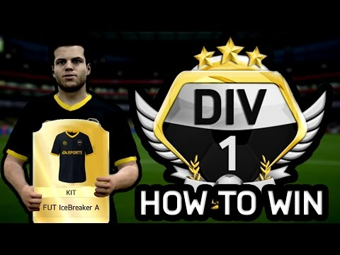HOW TO WIN DIVISION 1 ON FIFA 16 ULTIMATE TEAM!!