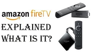 Fire TV How To Use - What is Amazon Fire Stick - How Does it Work? Amazon Fire TV Explained Tutorial
