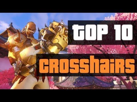 10 Cool Crosshairs For Overwatch! Plus Bonus Crosshair