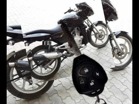 Center locking system for bike || CENTRAL LOCKING SYSTEM FOR BIKE || WITH(SHIVA)