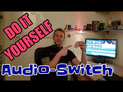 Audio-Switchbox DO IT YOURSELF