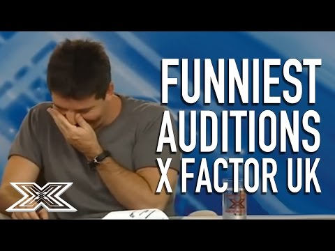 Funniest Auditions on X Factor UKVol.1