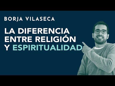 La diferencia entre religión y espiritualidad