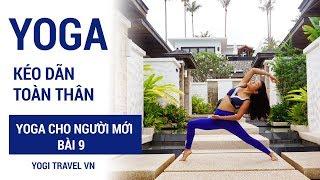 Bài Yoga kéo giãn toàn thân | Yoga cho người mới bài 9
