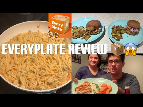 EveryPlate review | First box ever 📦🤗    #everyplate #mealdelivery #mealsubscription