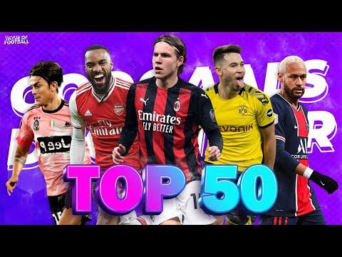 Top 50 Goals of December 2020