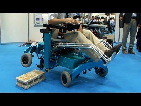 This Four-Legged Wheelchair Climbs Steps Like A Mountain Goat