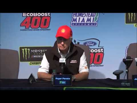 2018 NASCAR Homestead Monster Cup post-race Q&A