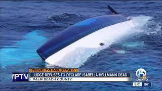 Judge refuses to declare Isabella Hellmann dead