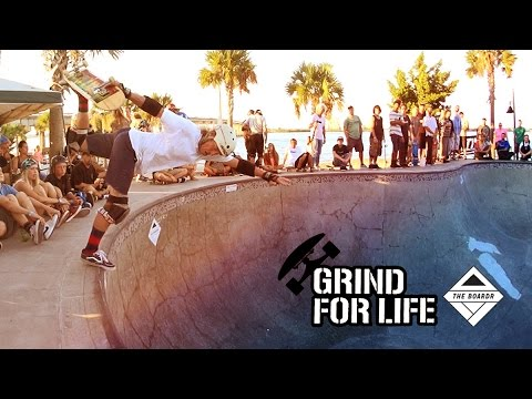 Grind for Life Bradenton, Florida Skateboarding Contest