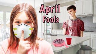 SNEAKY April Fools Day JOKE and Funny PRANKS!!!