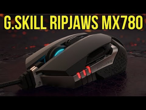 ✅ G.Skill Ripjaws MX780 Gaming Mouse Review