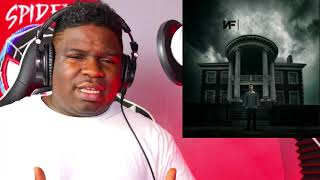 FIRST TIME HEARING   NF   Paralyzed (Audio) REACTION