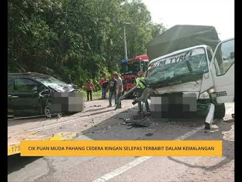Cik Puan Muda Pahang cedera ringan selepas terbabit dalam kemalangan