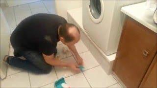 Ein Sockel, Podest  für eine Waschmaschine und einen Trockner Teil2
