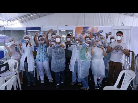 Ação High School Santa Madalena Sofia prestigia Profissionais da saúde