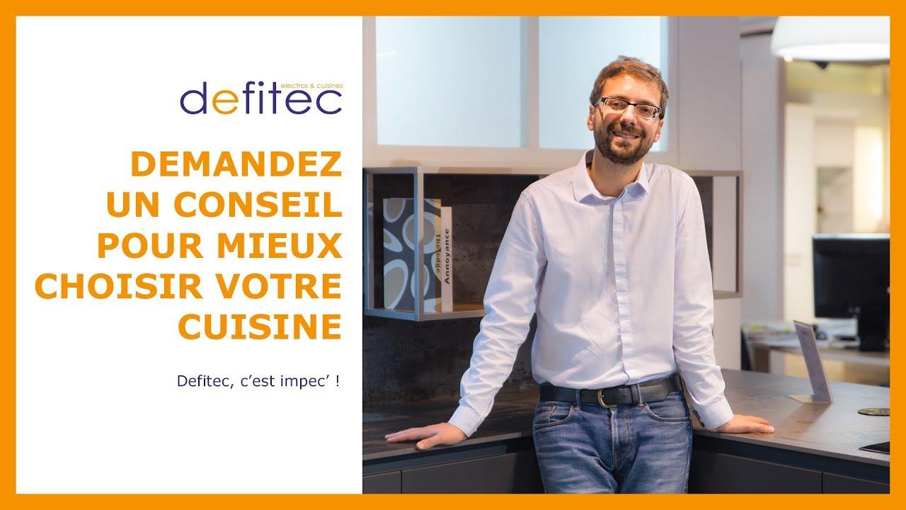 Chez Defitec, c'est impec ! Cuisines & Placards - Electros & Cuisines DEFITEC