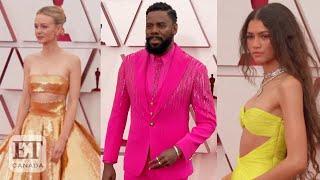 2021 Oscars Red Carpet Fashion