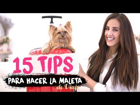 15 TIPS | Cómo preparar la maleta de viaje | Packing hacks