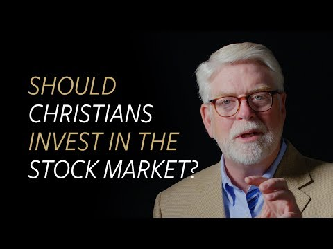 Should Christians invest in the stock market?