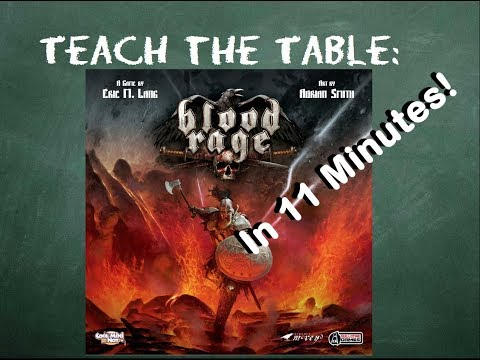 How to play Blood Rage - Teach The Table