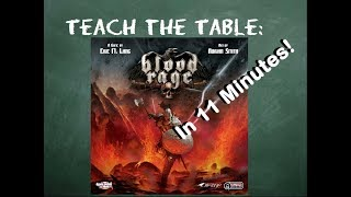 How to play Blood Rage in 11 Minutes