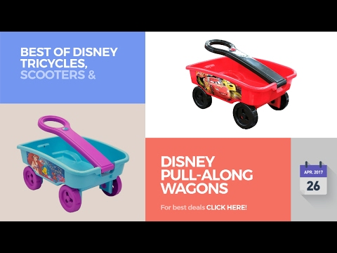 Disney Pull-Along Wagons Best Of Disney Tricycles, Scooters & Wagons