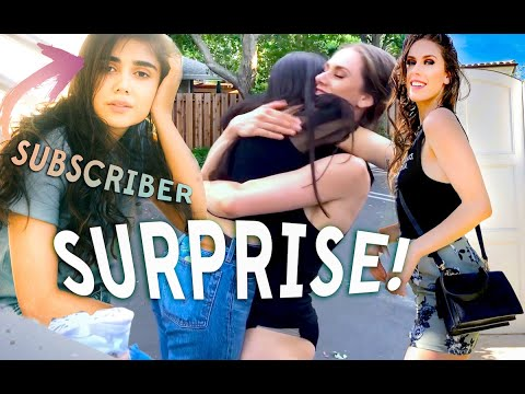 Surprising A Subscriber With Gold Jewelry, Skincare, Makeup, & A Day Exploring San Francisco!