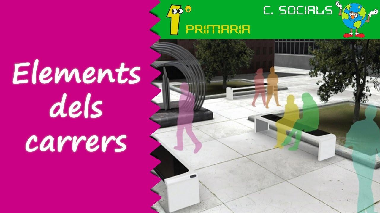 Ciències Socials. 1º Primaria. Tema 3: Els elements del carrer