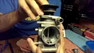 2009 Yamaha Big Bear 400 Carburetor Rebuild Part 2 Of 3