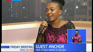GUEST ANCHOR: Actress Celestine Gachuhi (Selina)