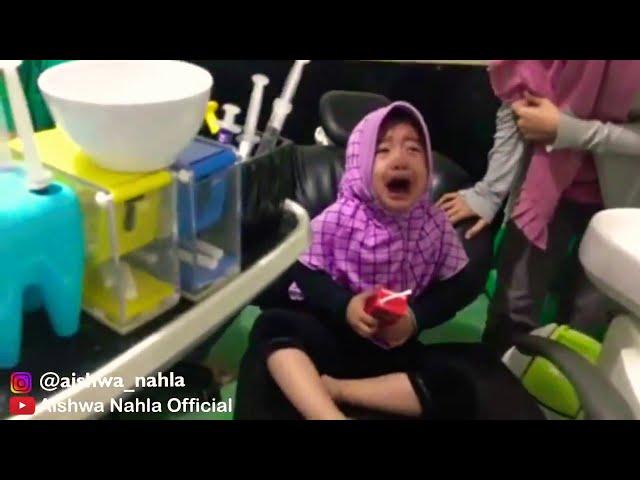 Tiga Video Ini Yang Buat Kak Aishwa Nahla Tuai Simpatik Masyarakat dan Menjadi Viral !!!