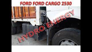 Ford Cargo 2530 hidrojen yakıt tasarruf cihaz montajı