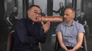 Danny Boyle & Ewen Brenner T2 Trainspotting Interview