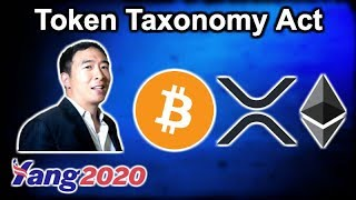 Token Taxonomy Act - Presidential Candidate Andrew Yang Crypto - IMF Bitcoin Crypto Lunch